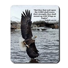 Wide Winged Wonder Mousepad
