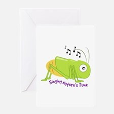 Natures Tune Greeting Cards