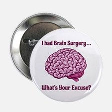 """What's Your Excuse? 2.25"""" Button (10 pack)"""