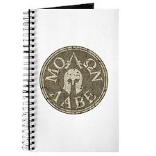 Molon Labe, Come and Take Them Journal