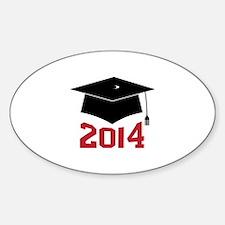 2014 Graduate Decal