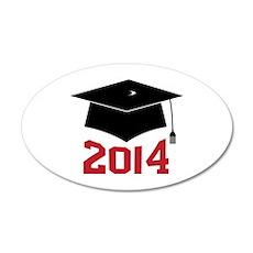 2014 Graduate Wall Decal