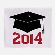 2014 Graduate Throw Blanket
