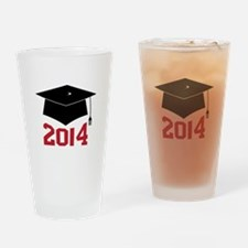 2014 Graduate Drinking Glass