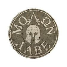 """Molon Labe, Come and Take Them 3.5"""" Button (100 pa"""