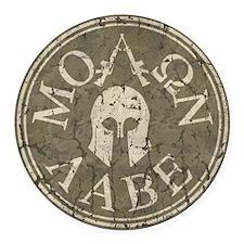 Molon Labe, Come and Take Them Round Car Magnet