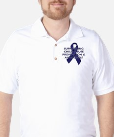 ...Child Abuse Ribbon... T-Shirt