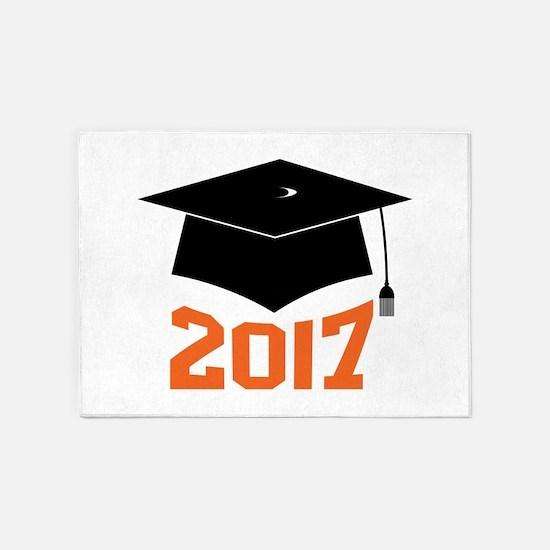 2017 Graduate 5'x7'Area Rug