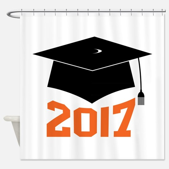2017 Graduate Shower Curtain
