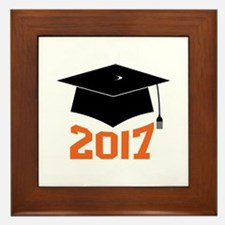 2017 Graduate Framed Tile