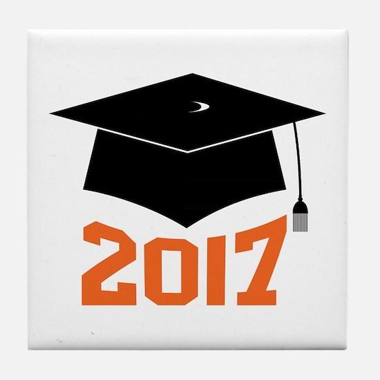 2017 Graduate Tile Coaster