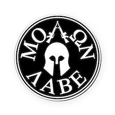 Molon Labe, Come and Take Them Cork Coaster