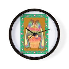 cave of jewels Wall Clock