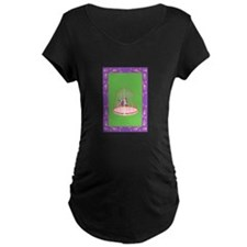 bird in a cage Maternity T-Shirt