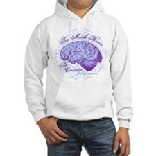 Too Much Brain to Contain Hoodie