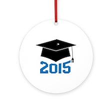 2015 Graduate Ornament (Round)