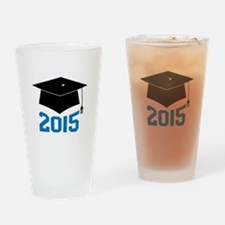 2015 Graduate Drinking Glass