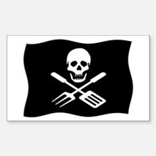 Grill Pirate Decal