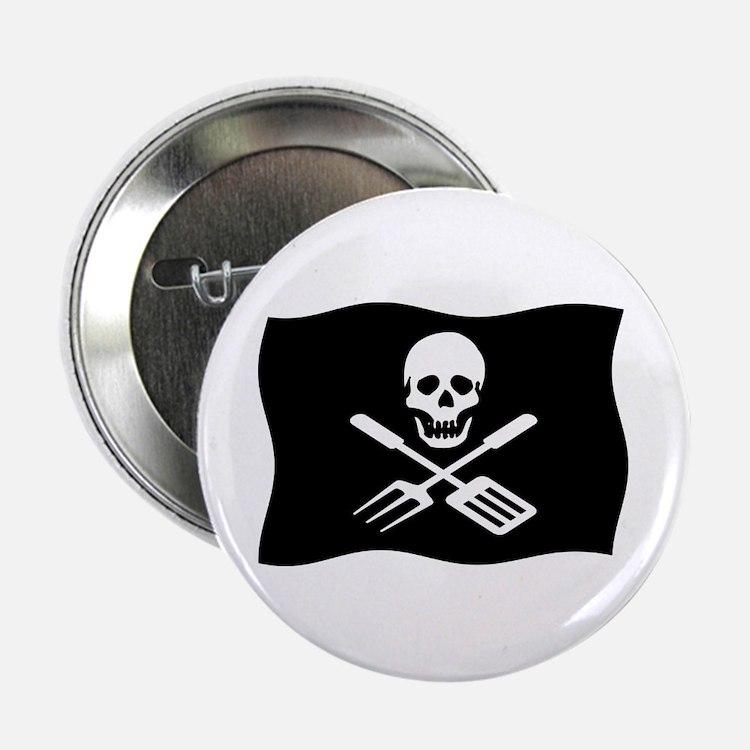 "Grill Pirate 2.25"" Button"