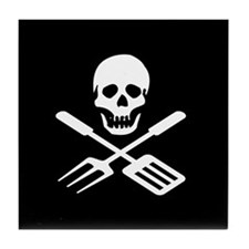Grill Pirate Tile Coaster