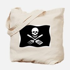 Grill Pirate Tote Bag