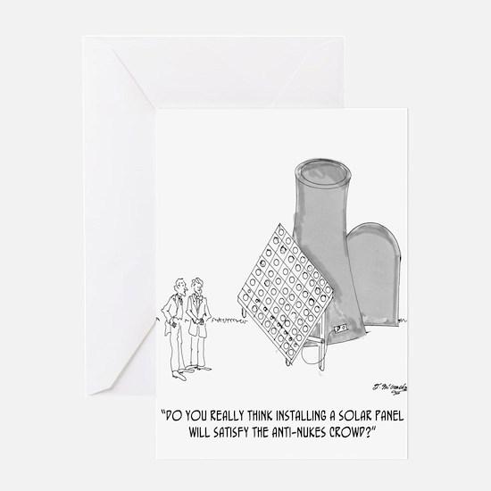 Solar Cartoon 0747 Greeting Card