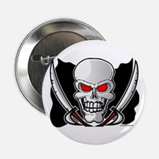 Pirate Flag - Jolly Roger Button