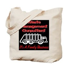 Waste Management Consultant Tote Bag