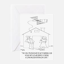 Solar Cartoon 0521 Greeting Card