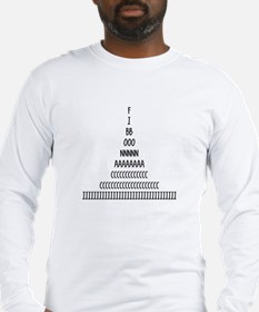 Fibonacci Sequence Long Sleeve T-Shirt