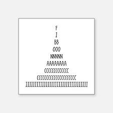 Fibonacci Sequence Sticker