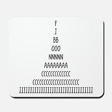 Fibonacci Sequence Mousepad