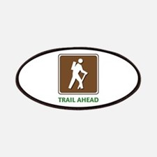 Hike Train Ahead Patches