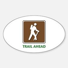 Hike Train Ahead Decal