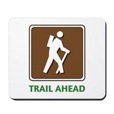 Hike Train Ahead Mousepad