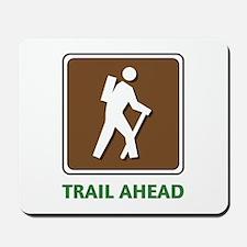 Hike Train Ahead Mousepad