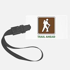 Hike Train Ahead Luggage Tag