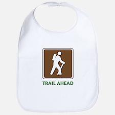 Hike Train Ahead Bib