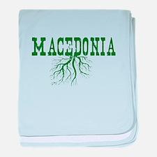 Macedonia Roots baby blanket