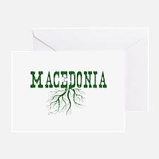 Macedonia Roots Greeting Card