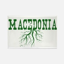 Macedonia Roots Rectangle Magnet