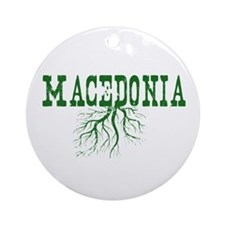 Macedonia Roots Ornament (Round)