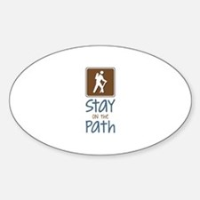 Hike On Path Decal