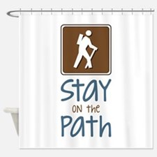 Hike On Path Shower Curtain