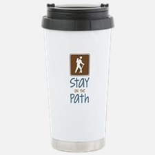 Hike On Path Travel Mug