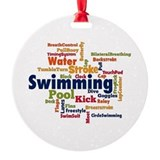 Swim Round Ornament