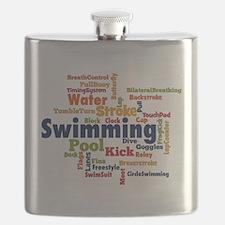 Swimming Word Cloud Flask