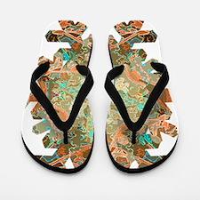 Funny Sage Flip Flops