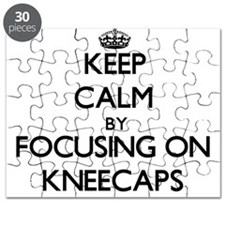 Keep Calm by focusing on Kneecaps Puzzle