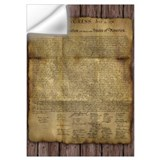 Declaration of independence Wall Decals